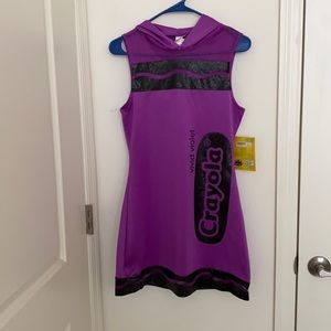 Crayola Purple Crayon Costume Dress